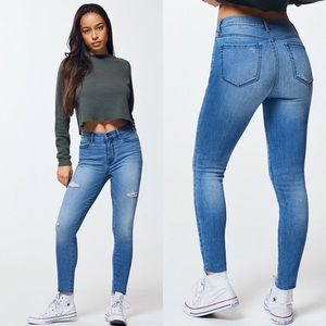 PacSun Blue Ripped Jeans